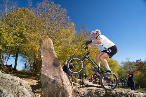 2021 Fahrradtrial Trainingslauf